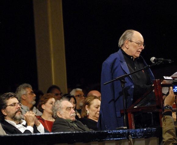 Guevara presidió el ICAIC desde su fundación en 1959 hasta su fallecimiento en 2013. Foto: ACN/Roberto Morejón.