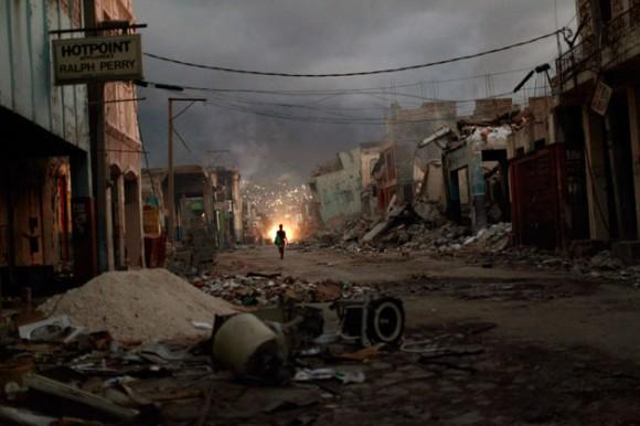 Haití en la miseria.