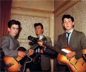 George, John y Paul