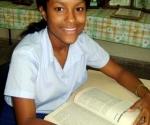Lisandra Cutiño, joven tunera que se proclamó ganadora del Concurso Iberoamericano de Ortografía
