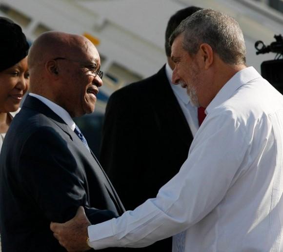 llegada-de-presidente-sudafricano-a-cuba-diciembre-2010