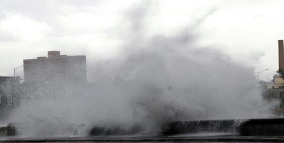 Inundaciones costeras. Foto: AIN.