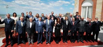 La foto de familia de la Cumbre Iberoamericana de Mar del Plata.