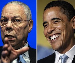 Powell y Obama