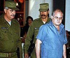 Otto René Rodríguez Llerena, durante el juicio que se le siguió en 1998.