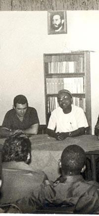 Raúl Díaz-Argüelles cayó combatiendo como latino africano