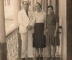 Regino Boti, Cachitica y la hija de ambos, Caridad.