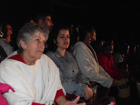 Los pobladores de la Comunidad 6to Congreso tuvieron su Cita con Ángeles. Foto Marianela Dufflar