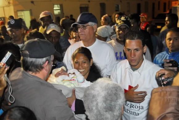 Silvio en la Comunidad 6to Congreso.  Foto Iván Soca
