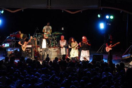 Concierto del grupo Síntesis con Eme y X Alfonso. Foto: Iván Soca