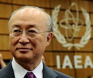Yukiya Amano, jefe del organismo de supervisión nuclear de Naciones Unidas. Foto de archivo