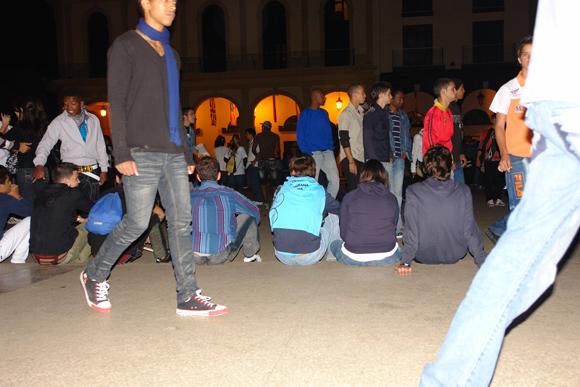 Tras la marcha, se espera el concierto