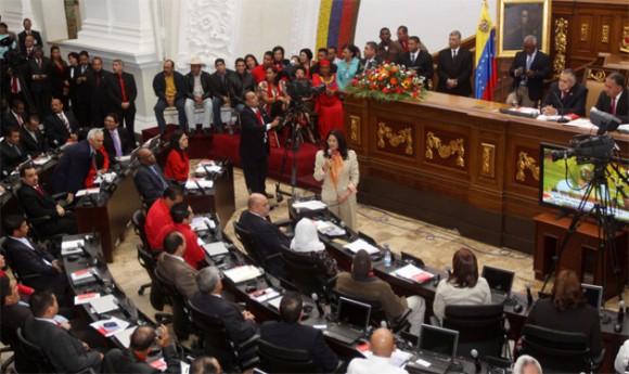 Asamblea Nacional de Venezuela (Foto Zurimar Campos, AVN)
