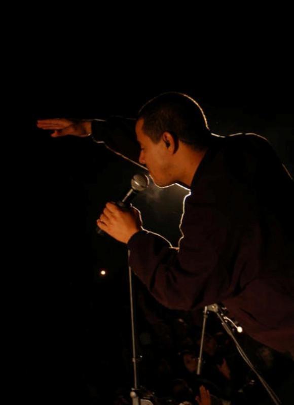 Israel Rojas, voz líder del grupo Buena Fe