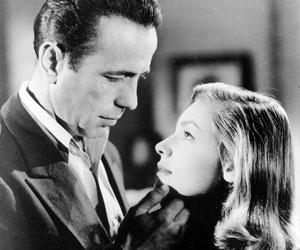 Bogart y Bacall.