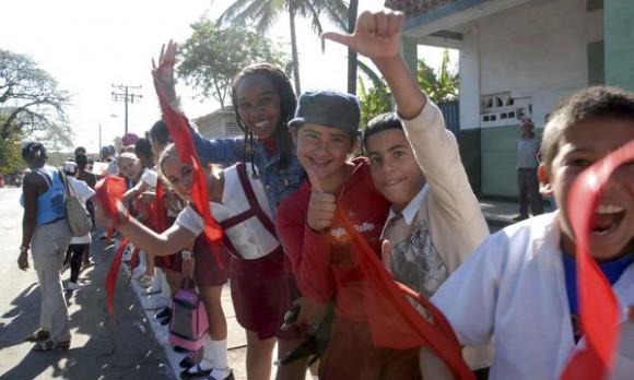 CUBA-LA HABANA-REMEMORAN CARABANA DE LA LIBERACION 52 AÑOS DESP