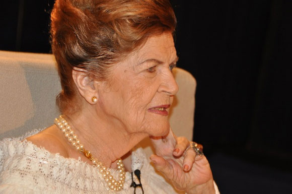 """Carilda Oliver en el programa """"Con 2 que se quieran"""". Foto: Petí"""