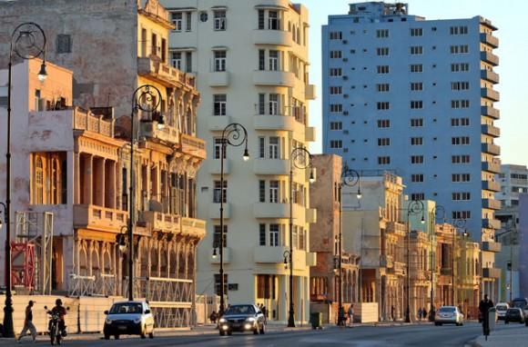 Avenida del Malecón, en La Habana. Foto: EFE