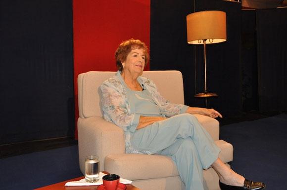 """Dra. María Dolores Ortiz en el programa """"Con 2 que se quieran"""". Foto: Petí"""
