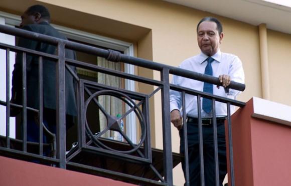 Duvalier en el Hotel Caribe. Foto: AFP