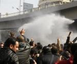 Manifestantes en El Cairo, el 28 de enero de 2011. Foto: AFP