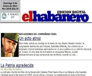 """Se multiplica por dos, periódico """"El Habanero"""""""