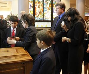 Funeral de victima de Tucson