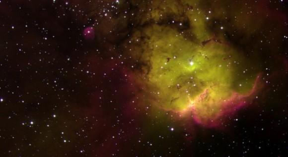 Galaxia NGC 2467, creada por el estadounidense Josh Barrington.