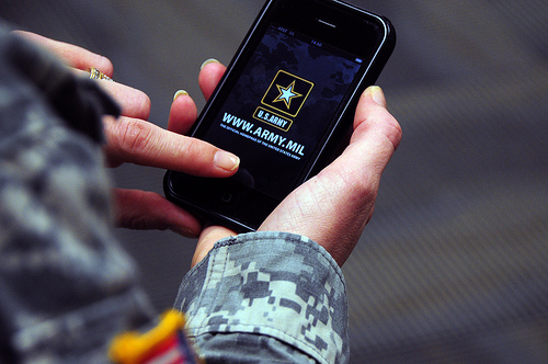 Iphone US Army