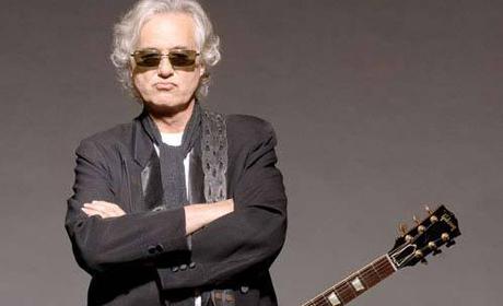 Jimmy Page, baterista de Led Zeppelin