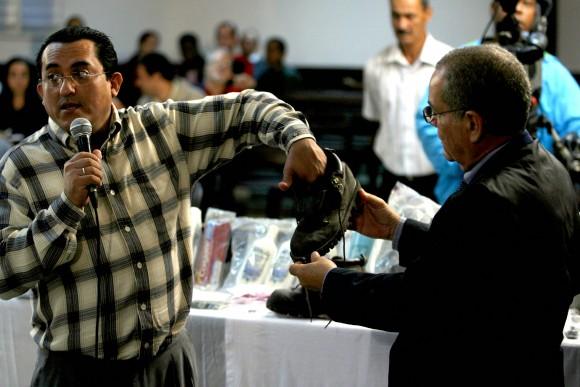 Los peritos en el curso del reciente juicio en La Habana. Foto: Ismael Francisco
