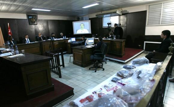 Francisco Chávez Abarca durante el juicio en La Habana. Foto: Ismael Francisco.