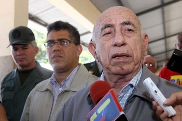 Machado Ventura en Venezuela.