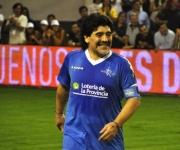 Diego Maradona hace pocos días en la ciudad argentina de Mar del Plata. Foto: Kaloian