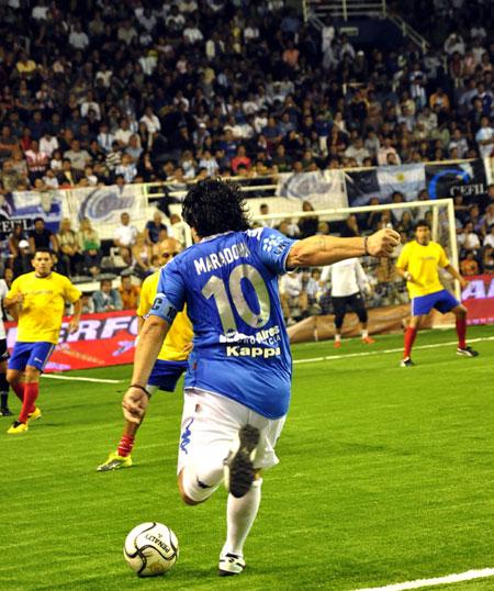 Diego, el gran Diego. Foto: Kaloian