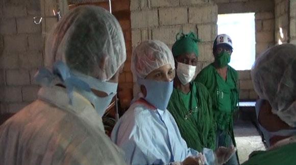 Médicos en Haití