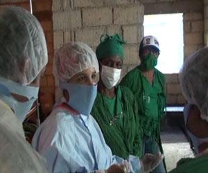 No hay otra forma de ayudar a Haití que combatir la epidemia