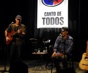 Pepe Ordaz y Vicente Feliú, Canto de Todos, Casa del ALBA. Foto: Iván Soca