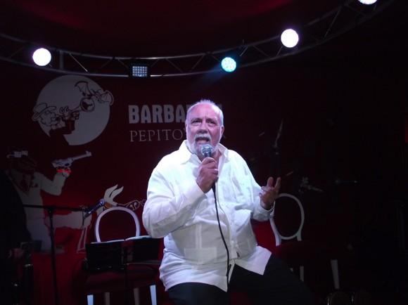 Tony Pinielli, Director Artístico y Anfitrión del Barbaram Pepito´s Bar