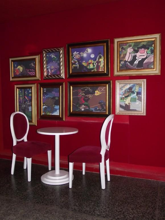 Muebles utilizando una  síntesis estética barroca de la época de Luis XIV
