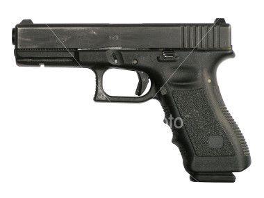 """Robert Mueller, director del FBI asegura que el arma utilizada en el tiroteo de Tucson es una Glock 9mm (como la de la foto) y afirma que """"hasta que no se detenga al presunto segundo implicado"""" del que se ha facilitado una foto, """"no podrá afirmarse su participación""""."""