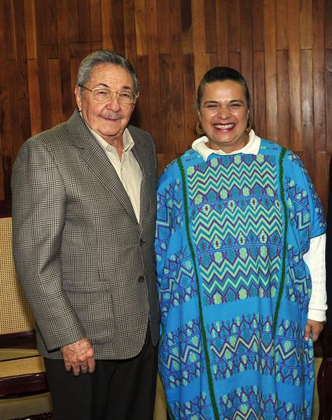 Beatriz Paredes Rangel es también la vicepresidenta de la Internacional Socialista. Autor: Geovani Fernández