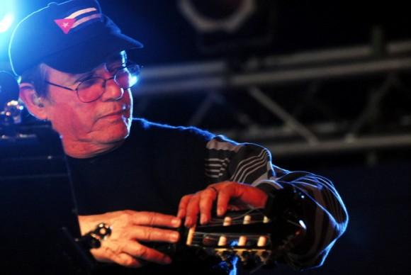 Silvio Rodriguez en La Hata. Foto: Iván Soca