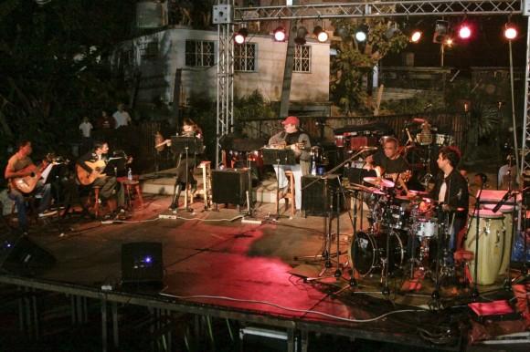 Hacedores de música en Loma Modelo. Foto: Alejandro Ramírez Anderson
