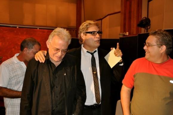 """Antón, Amaury y Manolito en """"Con 2 que se quieran"""". Foto: Petí"""