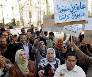 Estalla violencia en la Plaza Tahrir de Egipto: dos muertos