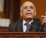 El ex premier tunecino Mohamed Ghanuchi