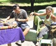 Hippies en El Bolson. Foto: Kaloian