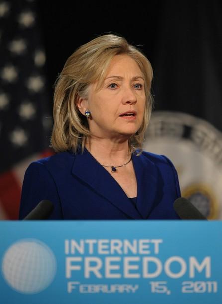 Hillary Clinton, Secretaria de Estado norteamericana en su más reciente discurso