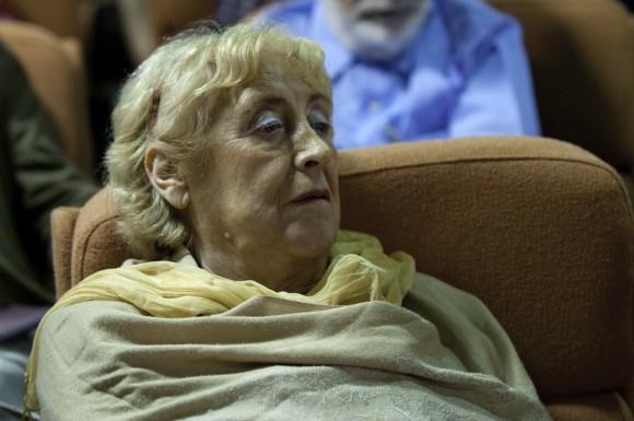 Stella Calloni, escritora argentina. Foto: Roberto Chile